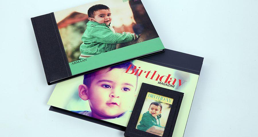 Eline Birthday Album Designs
